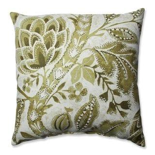 Pillow Perfect Java Tree Moss Throw Pillow
