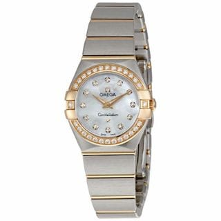 Omega Women's 12325246055001 Constellation Silver Watch