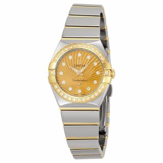 Omega Women's 12325246058002 Constellation Gold MOP Watch