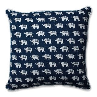 Pillow Perfect Ellie Indigo Throw Pillow