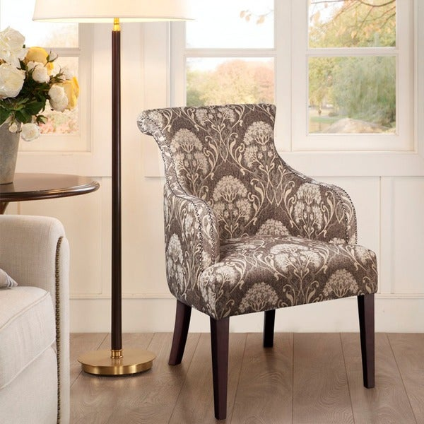 Shop Madison Park Jayla Rollback Accent Chair Taupe