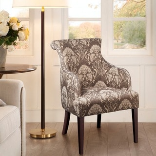 Madison Park Jayla Rollback Accent Chair--Taupe