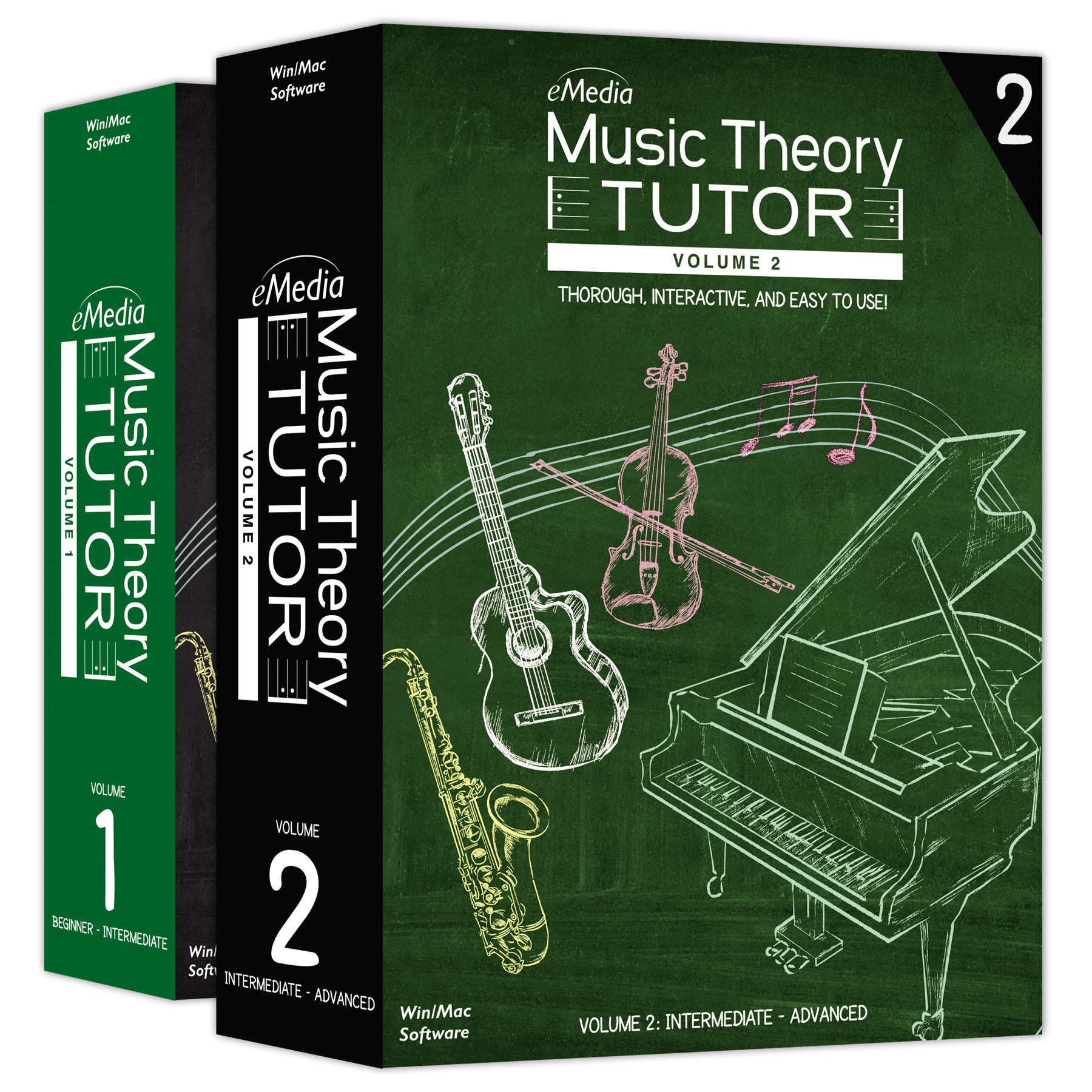 E Media Music Theory Tutor Complete (vol 1 and Volume 2) ...