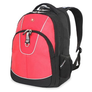 SwissGear Red/Black 15-inch Laptop Backpack