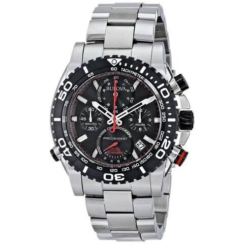 Bulova Men's 98B212 Precisionist Chronograph Stainless Steel Watch