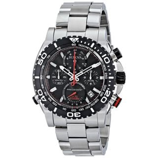 Bulova Men's 98B212 Precisionist Chronograph Stainless Steel Watch