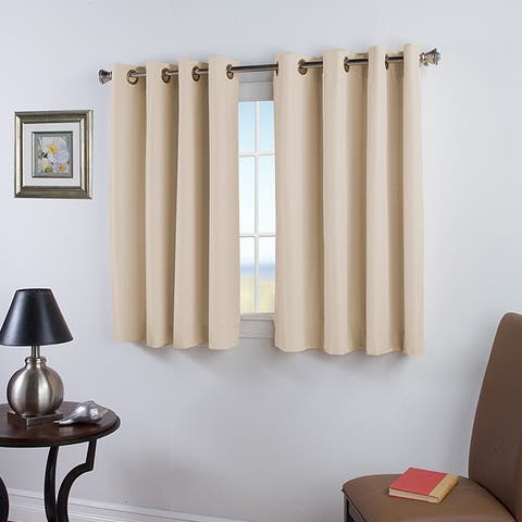 Elegance 54 inch Length Grommet Insulated Panel with Attachable Wand - 54x54