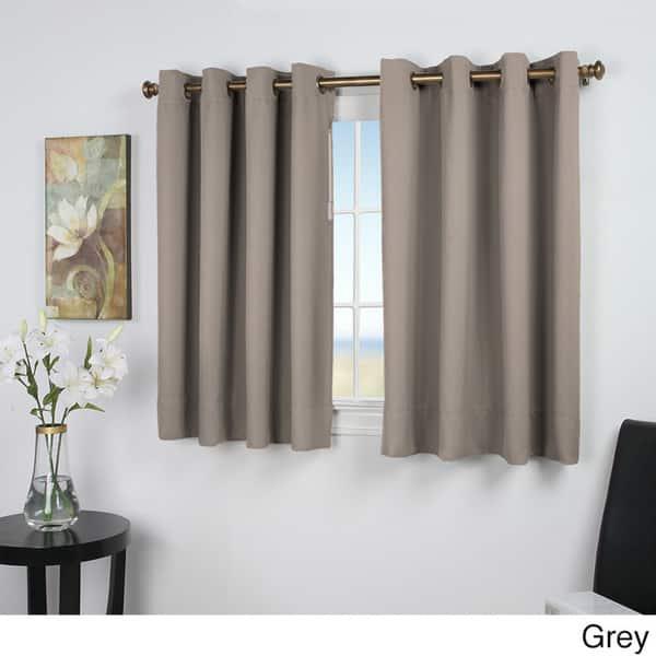 Short Length Grommet Curtain Panel