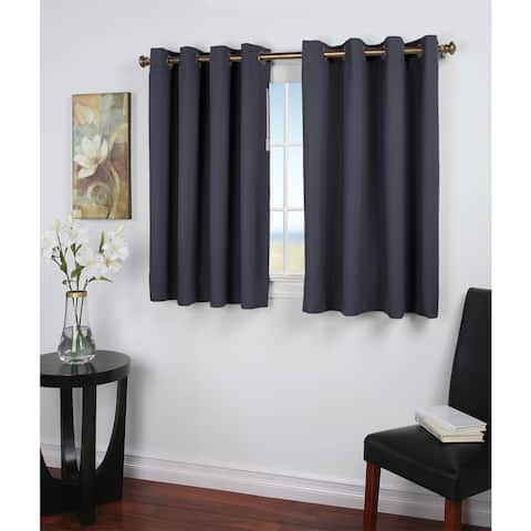 Ultimate Blackout 54-Inch Short Length Grommet Curtain Panel