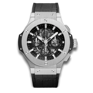 Hublot Men's 311.SX.1170.GR 'Big Bang Evolution Black Magic' Chronograph Automatic Carbonfiber Black