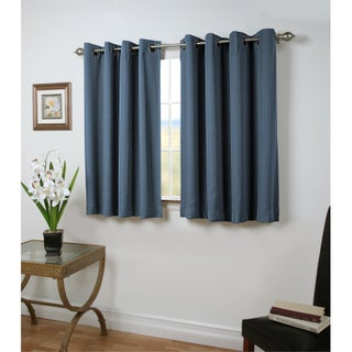 Grand Pointe 45 inch Length Short Grommet Blackout Panel with attachable wand