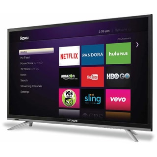 Hitachi 32-inch LED 1080p 60Hz HDTV (Refurbished)