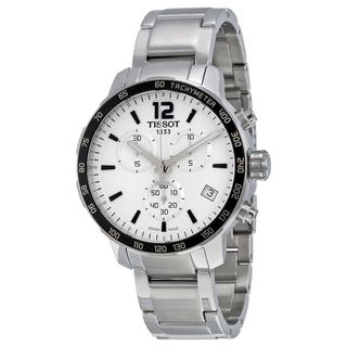 Tissot Men's T0954171103700 'Quickster' Chronograph Stainless Steel Watch