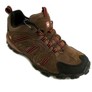 Swiss Gear Men's Notch Brown Hiking Shoes