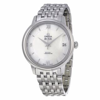 Omega Women's 42410332005001 De Ville White MOP Watch