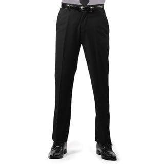 Ferrecci Men's Premium Black Slim Fit Pants