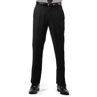 Ferrecci Men's Premium Black Regular Fit Pants|https://ak1.ostkcdn.com/images/products/10838012/P17880059.jpg?impolicy=medium