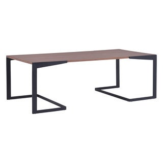 Sister Brown/ Black Finish Coffee Table