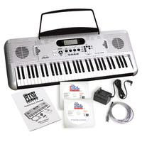 eMedia Play Piano Pack Deluxe with USB MIDI Keyboard, and 2 CD-ROM Set (Win/ Mac)