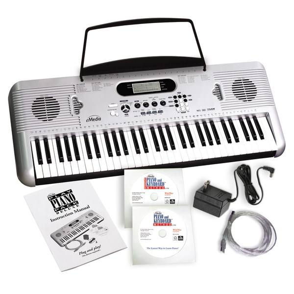 aed938a61 Shop eMedia Play Piano Pack Deluxe with USB MIDI Keyboard