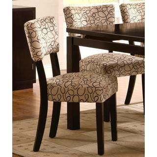 Pilgrim Modern Design Cappuccino Dining Chairs (Set of 2)