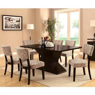 Pilgrim Modern Design Cappuccino Bold Dining Set
