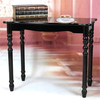 Large Coffee Table, Accent End Table, Espresso Finish