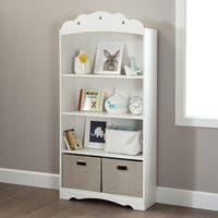 South Shore Tiara 4-Shelf Bookcase