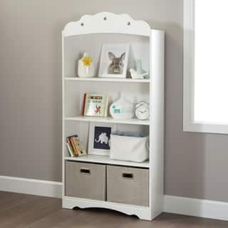 South Shore Tiara 4-Shelf Bookcase