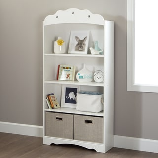 Link to South Shore Tiara 4-Shelf Bookcase Similar Items in Kids' Storage & Toy Boxes