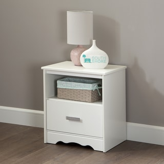 South Shore Tiara 1-Drawer Nightstand