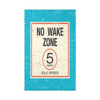 No Wake Word Print 50x60-inch Throw Blanket (3 options available)