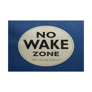 Nap Zone Word Print Area Rug (5' x 7')