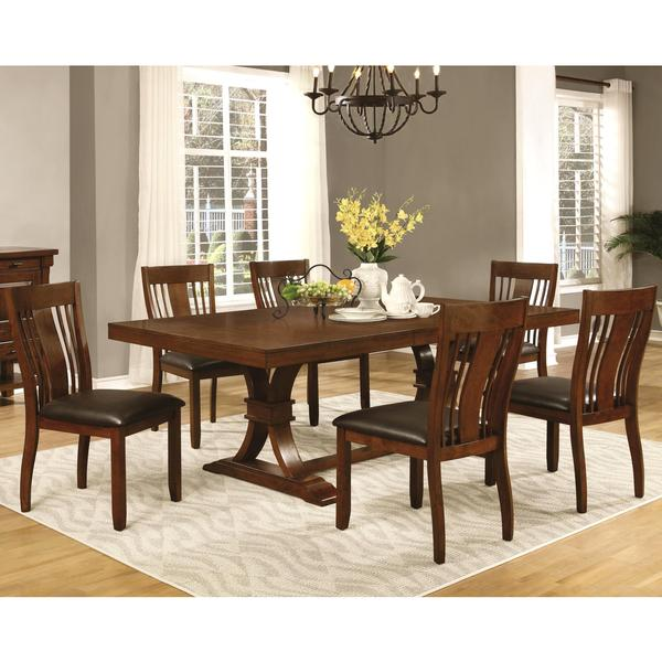 Mission Style Dining Room: Shop Oxford Transitional Mission Style Dining Set