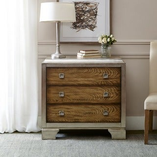 Madison Park Harker Silver Trimmed Accent Chest
