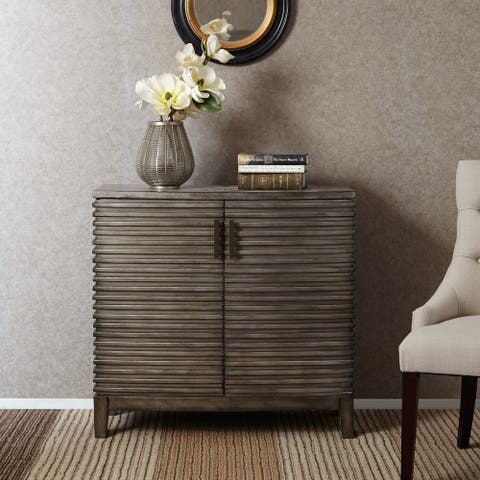Madison Park Cain Grey Ridge Accent Chest