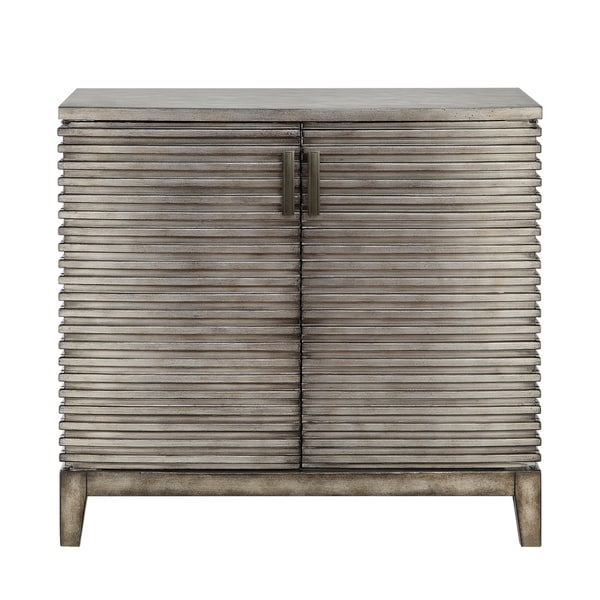 Madison park cain ridge accent chest free shipping today for Furniture of america gelenan industrial cement like multi storage buffet