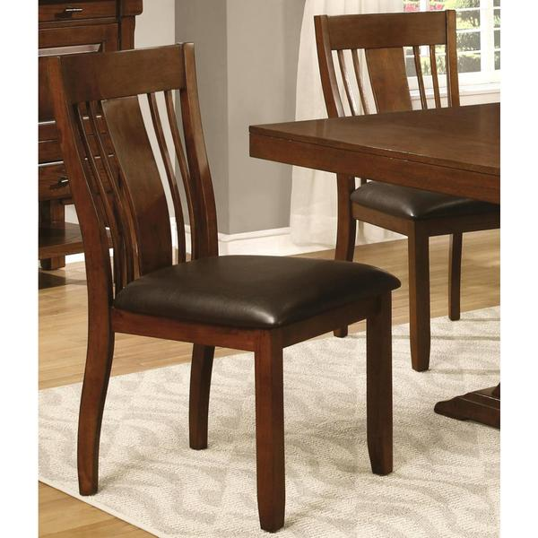 Oxford Transitional Mission Style Dining Chairs Set Of 2