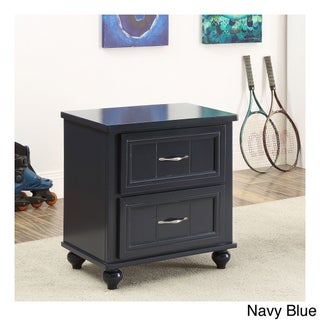 Furniture of America Alicia Cottage Style 2-drawer Youth Nightstand