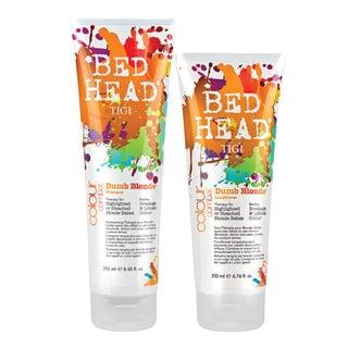 TIGI Bed Head Colour Combat Dumb Blonde Shampoo Conditioner Duo