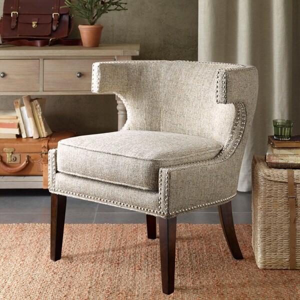 Shop Madison Park Audrey Contemporary Cutout Arm Chair