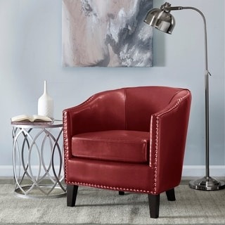 Gold Sparrow Aurora Rustic Red Arm Chair Free Shipping