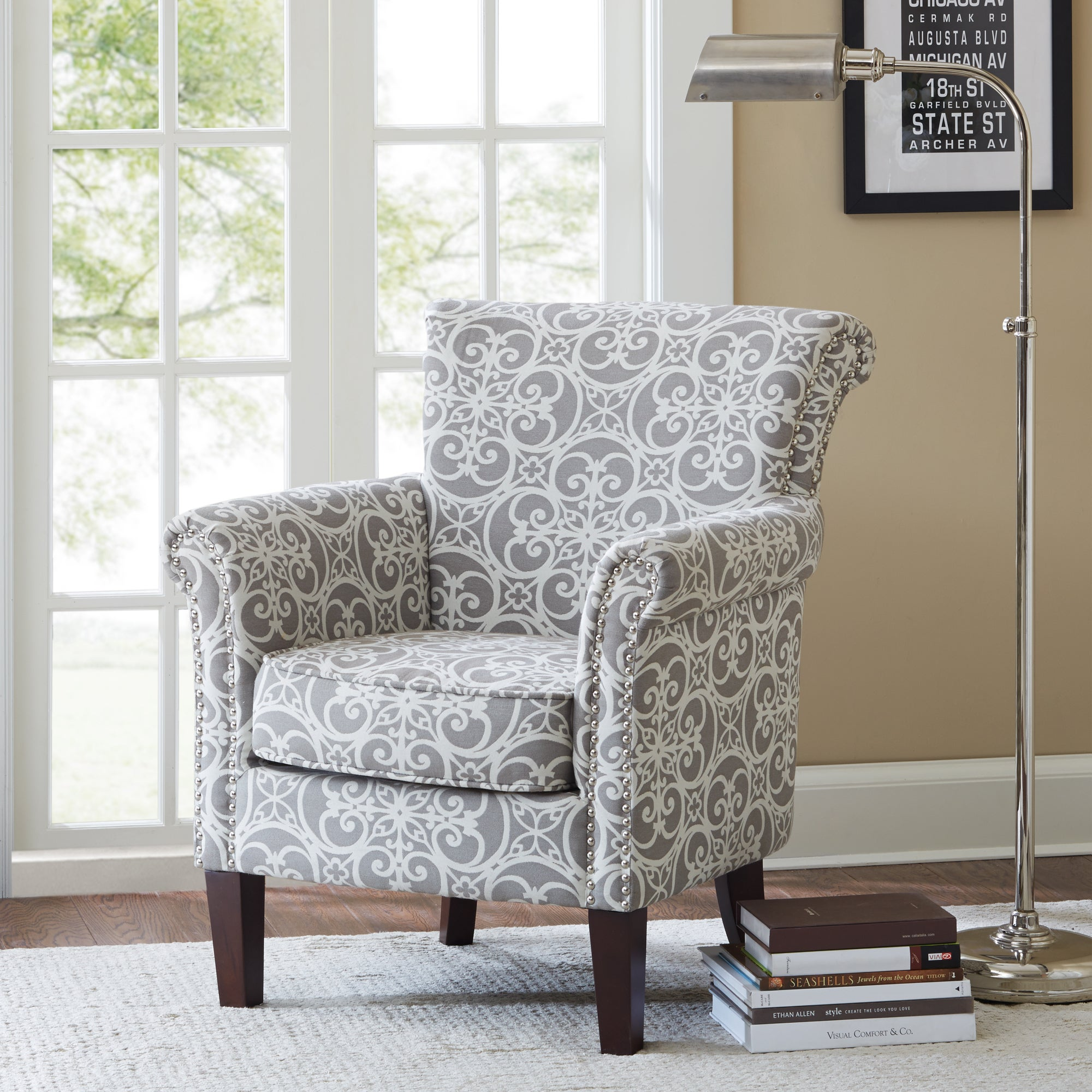 Buy Club Chairs Madison Park Living Room Chairs Online At Overstock.com |  Our Best Living Room Furniture Deals