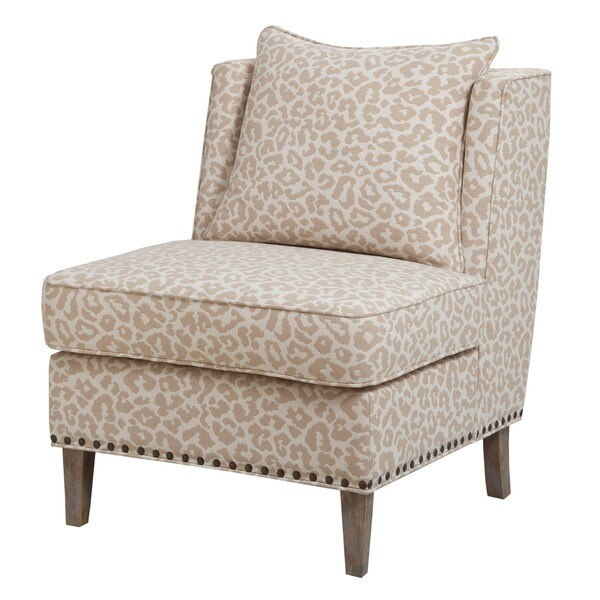 Madison Park Camron Armless Shelter Chair--Beige - Free Shipping Today - Overstock.com - 17880196