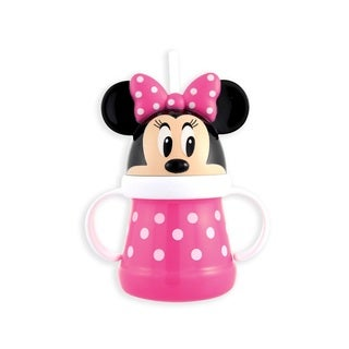 Sassy Minnie 10-ounce Straw Character Cup