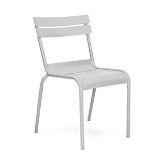 Chatou Grey Stackable Metal Side Chair (Set of 4)