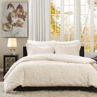 Madison Park Albany Ultra Plush Ivory Comforter Set