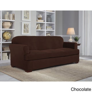 Tailor Fit Stretch Grid Slipcover T Sofa (4 options available)