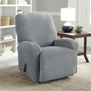 Tailor Fit Stretch Grid Slipcover Recliner