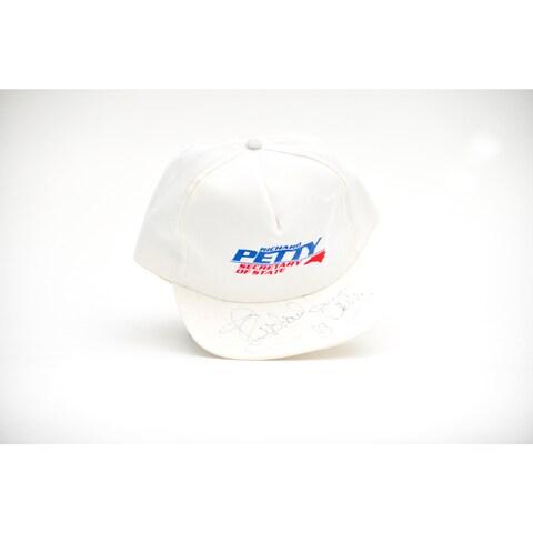 Richard Petty Autographed 43 Baseball Hat